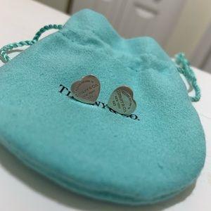 Tiffany &Co heart earrings